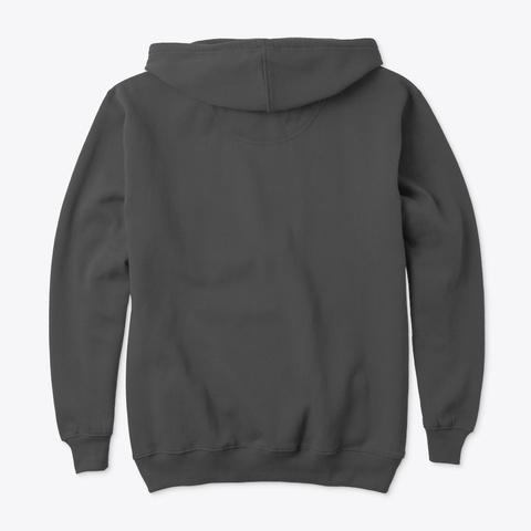 Keep Safe Distance Charcoal T-Shirt Back