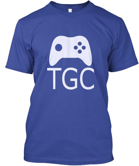 Tgc Deep Royal T-Shirt Front