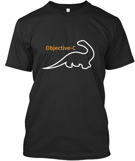 Objective C Black T-Shirt Front