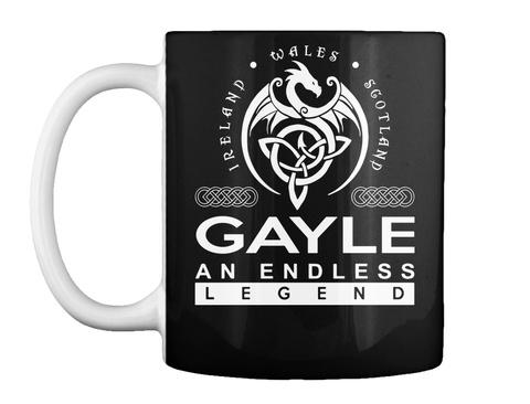 Mug   Gayle An Endless Legend Black T-Shirt Front