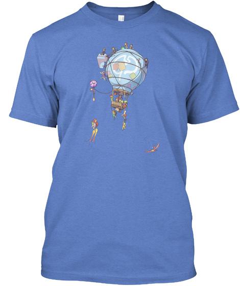 Mindcrack 6 Year Anniversary Shirt Heathered Royal  T-Shirt Front