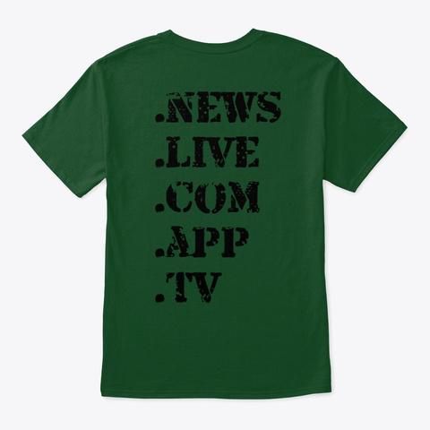 Bibliata.Com Deep Forest T-Shirt Back