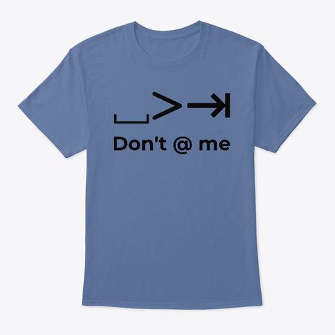Spaces ≫ Tabs Denim Blue T-Shirt Front