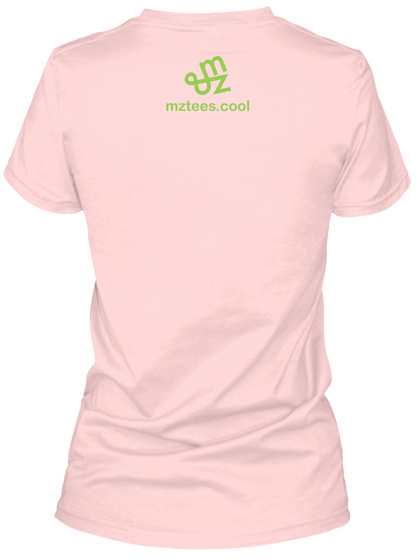 Apple Guys Light Pink T-Shirt Back