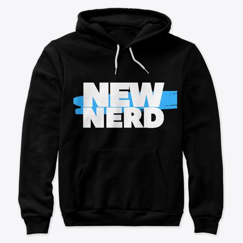 New Nerd Black T-Shirt Front