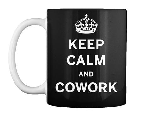 Som Kc Cowork Mug Black T-Shirt Front