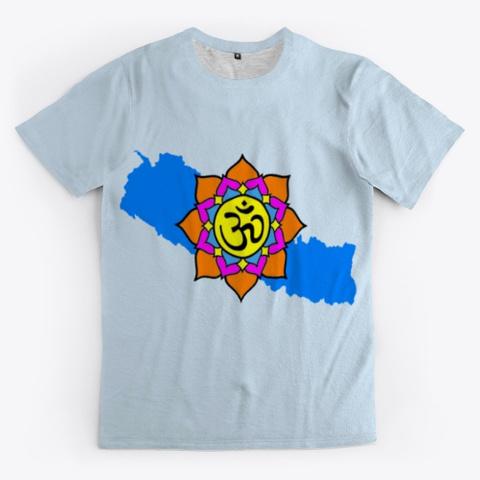 Ved N Khukri Pale Blue T-Shirt Front