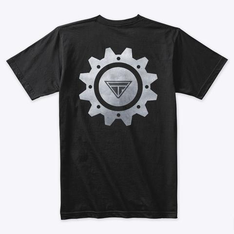 Trans Theories 2.0 Black T-Shirt Back