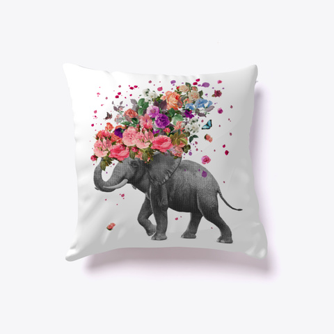 Elephant Splash Pillow Standard T-Shirt Front