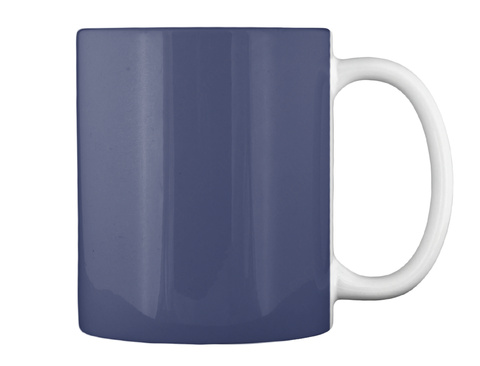 Grateful For Freedom Dk Navy Mug Back