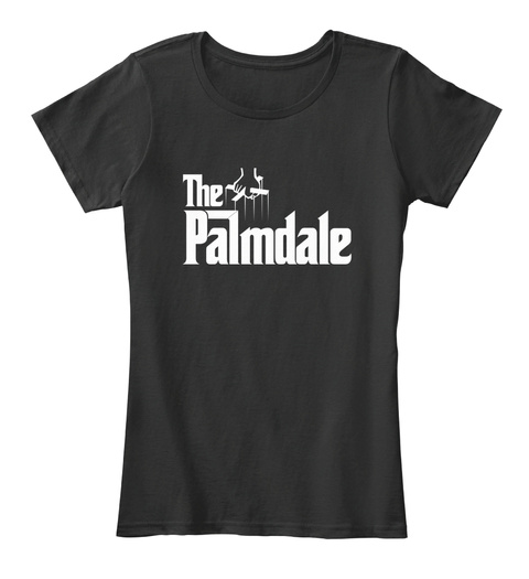Palmdale The G Father Parody Tee Black T-Shirt Front