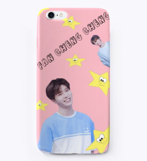 Fan Cheng Cheng Phonecase  Ninepercent Pink T-Shirt Front