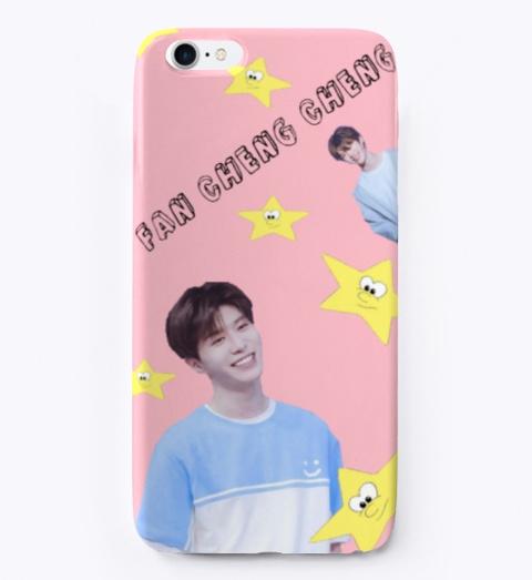Fan Cheng Cheng Phonecase  Ninepercent Pink T-Shirt Front