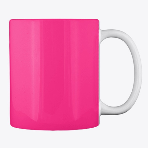 Lover Mother Other   Mug Hot Pink T-Shirt Back