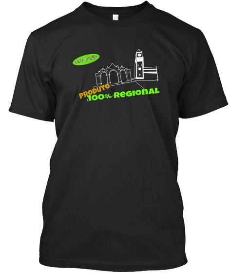 Portas Da Cidade Black T-Shirt Front
