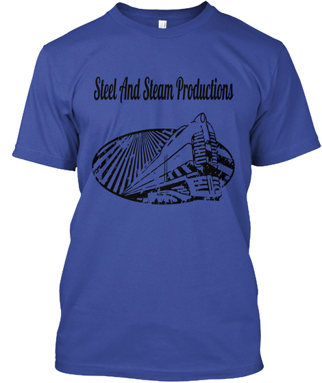 Steel And Steam Productions Deep Royal T-Shirt Front
