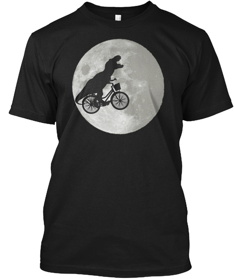 Bike Limited Edition Black T-Shirt Front