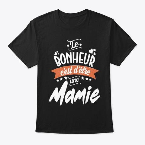 Le Bonheur Black T-Shirt Front