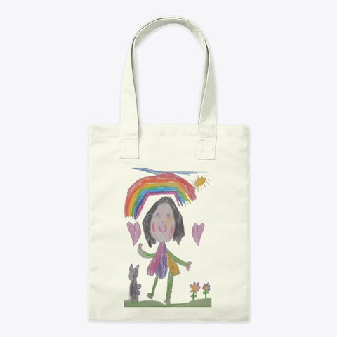 Emily And Ivy Bag Natural T-Shirt Front
