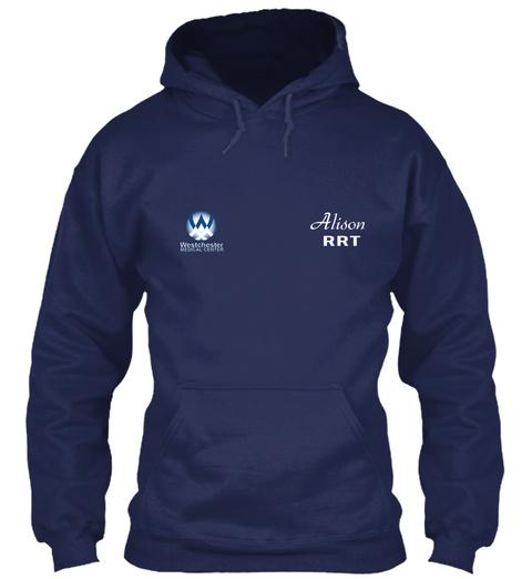 Alison Rrt Navy Sweatshirt Front