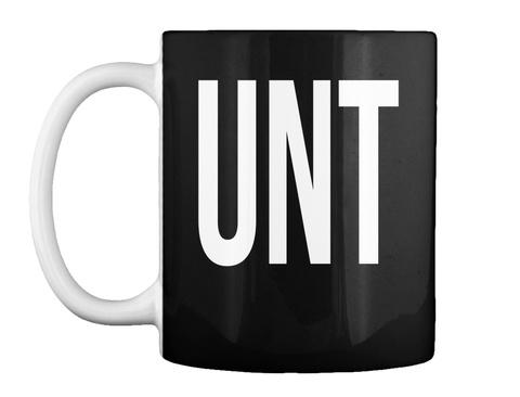 Unt Black Mug Front