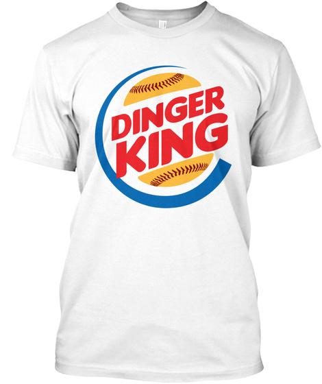 Dinger King - Baseball - Softball Unisex Tshirt