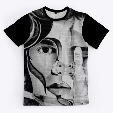 T Shirt: Hidden Eye Black T-Shirt Front