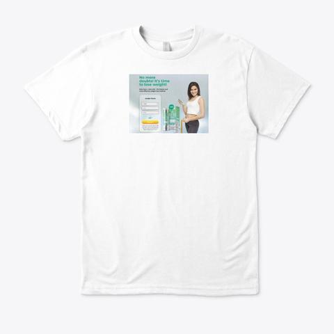 Keto Guru White T-Shirt Front