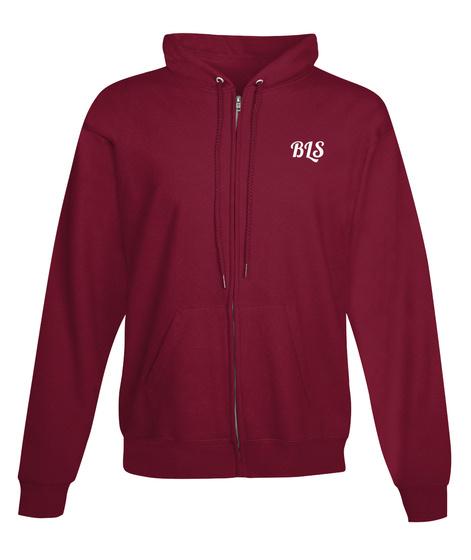 Bls Burgundy Sweatshirt Front