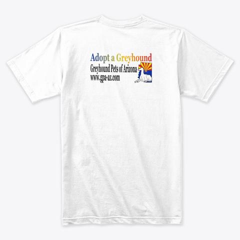 Mardi Greys 2020 White T-Shirt Back
