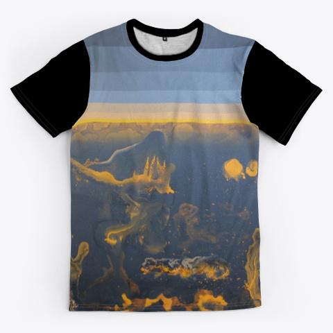 Kg The Black Out Orange Black T-Shirt Front