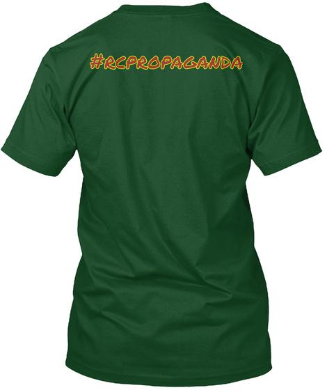 # Rcpropacanda Deep Forest T-Shirt Back