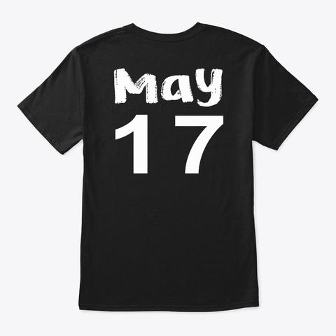 May 17   Taurus Black T-Shirt Back
