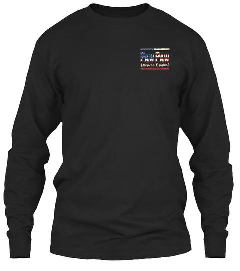 Pawpaw Black T-Shirt Front