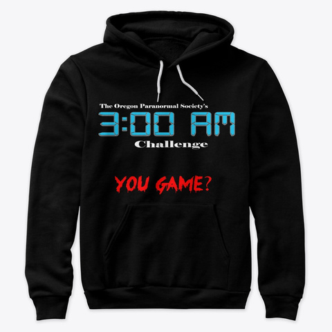 3:00 Am Challenge Black T-Shirt Front