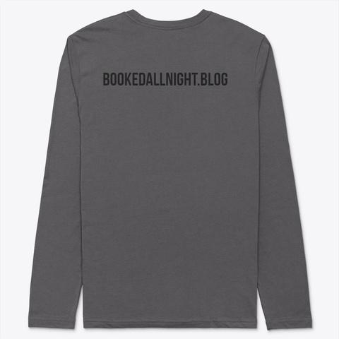 Book Nerd Heavy Metal T-Shirt Back