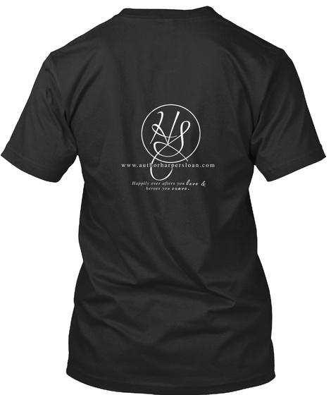 Hs Www.Athorharpersloan.Com Black T-Shirt Back