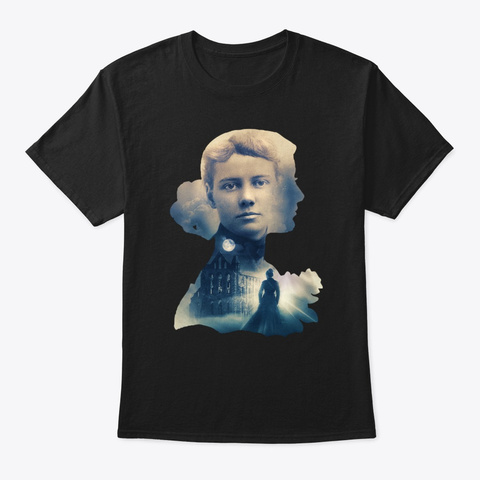 Nellie Bly Black T-Shirt Front