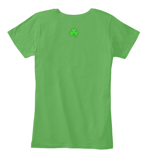 St. Paddy's Day Shirts And Goods Green T-Shirt Back