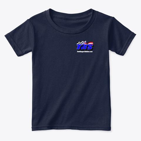 Trs Toddler T Shirt Navy  T-Shirt Front