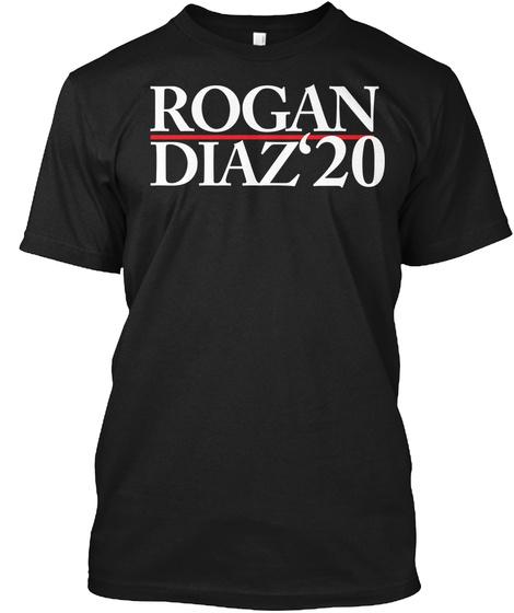 Rogan Diaz 20 Black T-Shirt Front