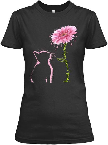 Bieast Cancel Awwicness Black T-Shirt Front