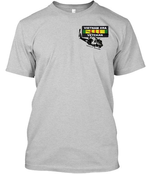 Vietnam Era Veteran Light Steel T-Shirt Front