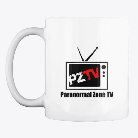 Paranormal Zone.Tv Merch White Mug Front