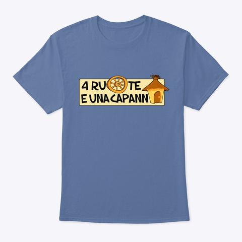 T Shirt Uomo/Donna/Bambino Denim Blue T-Shirt Front