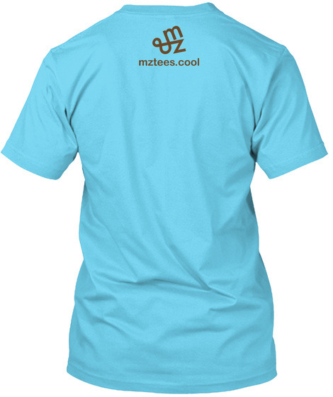 Coffee Guys Tahiti Blue T-Shirt Back