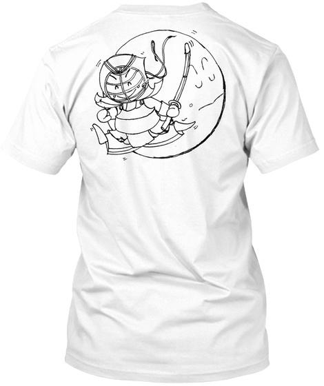 Yay! Kendo Tee (Bk, Light Color, Kfl) White T-Shirt Back