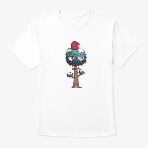 Santa Mr. Tree | Christmas Edition White T-Shirt Front