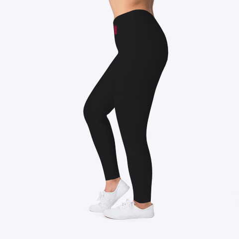 Burch Bros Leggings  Black T-Shirt Left