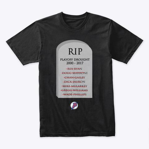 Drought Breakers Black T-Shirt Front